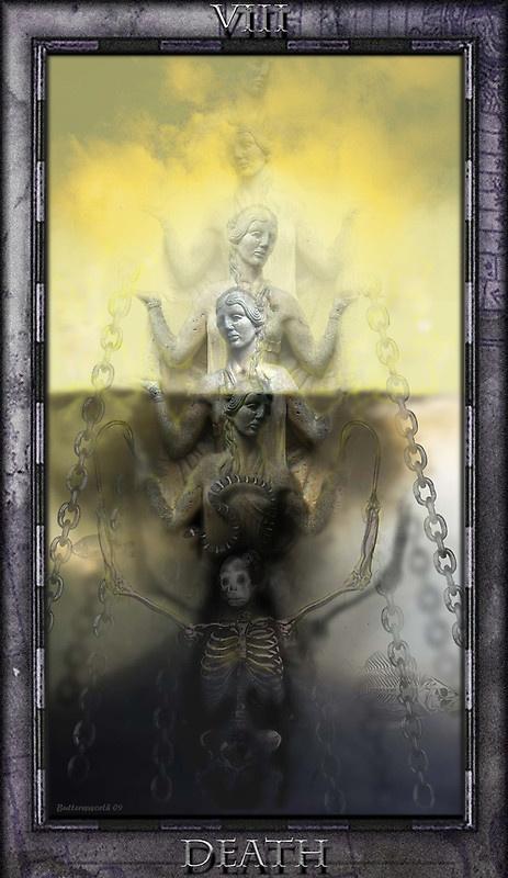 Rebirth Divination Card: Best 25+ Tarot Death Ideas On Pinterest