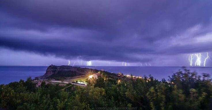 The 140914 storm in corfu!