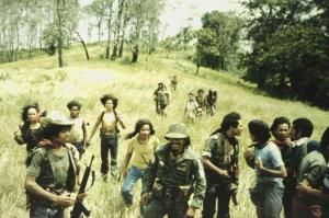 At the time of the Indonesian invasion of East Timor in 1975 FALINTIL consisted of 2,500 regular troops, 7,000 who had some Portuguese military training, and 10,000 who had attended short military instruction courses, for a total of 20,000