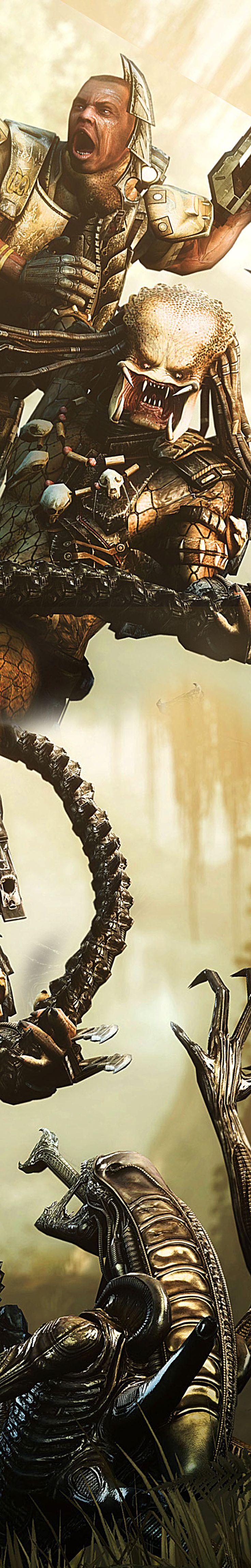 Marine v Predator v Alien