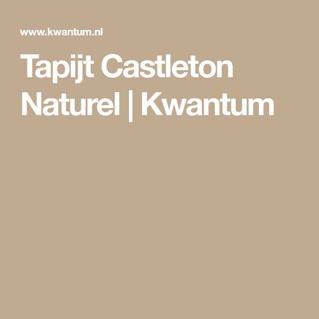 Tapijt Castleton Naturel | Kwantum