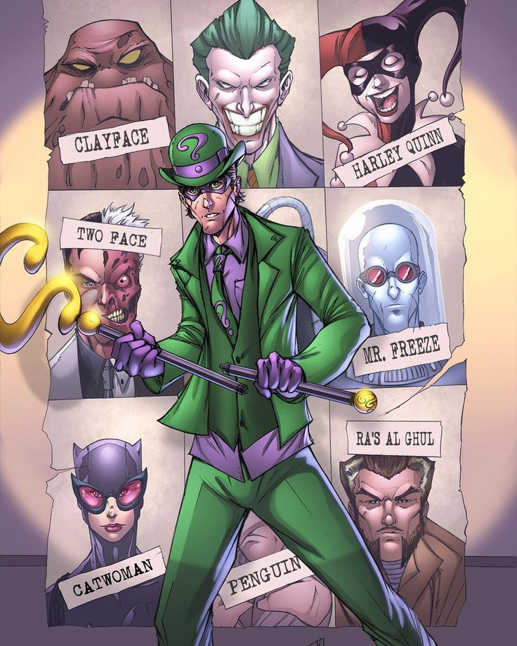 Riddler by   Ryan Kincaid &  HeagSta