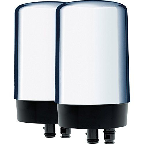 Brita On Tap Basic Water Faucet Filtration System Filter, Chrome, 2 pack - $17.95 - 17.95