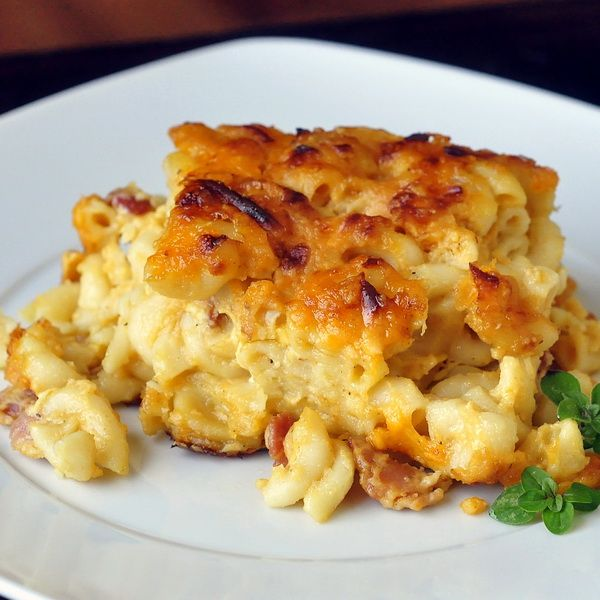 Bacon and Four Cheese Mac and Cheese - Rock Recipes -The Best Food & Photos from my St. John's, Newfoundland Kitchen.