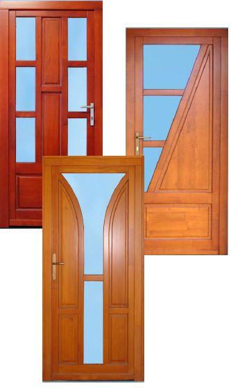 Rengeteg formájú és színű ajtó közül választhat.  http://ablakvar.hu/fa-bejarati-ajtok/
