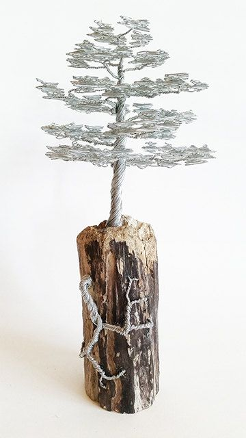 Rustic Sculpture / Rustic Driftwood Sculpture / Rustic Tree /
