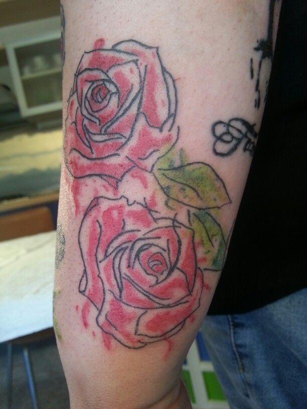 #roses #watercolor