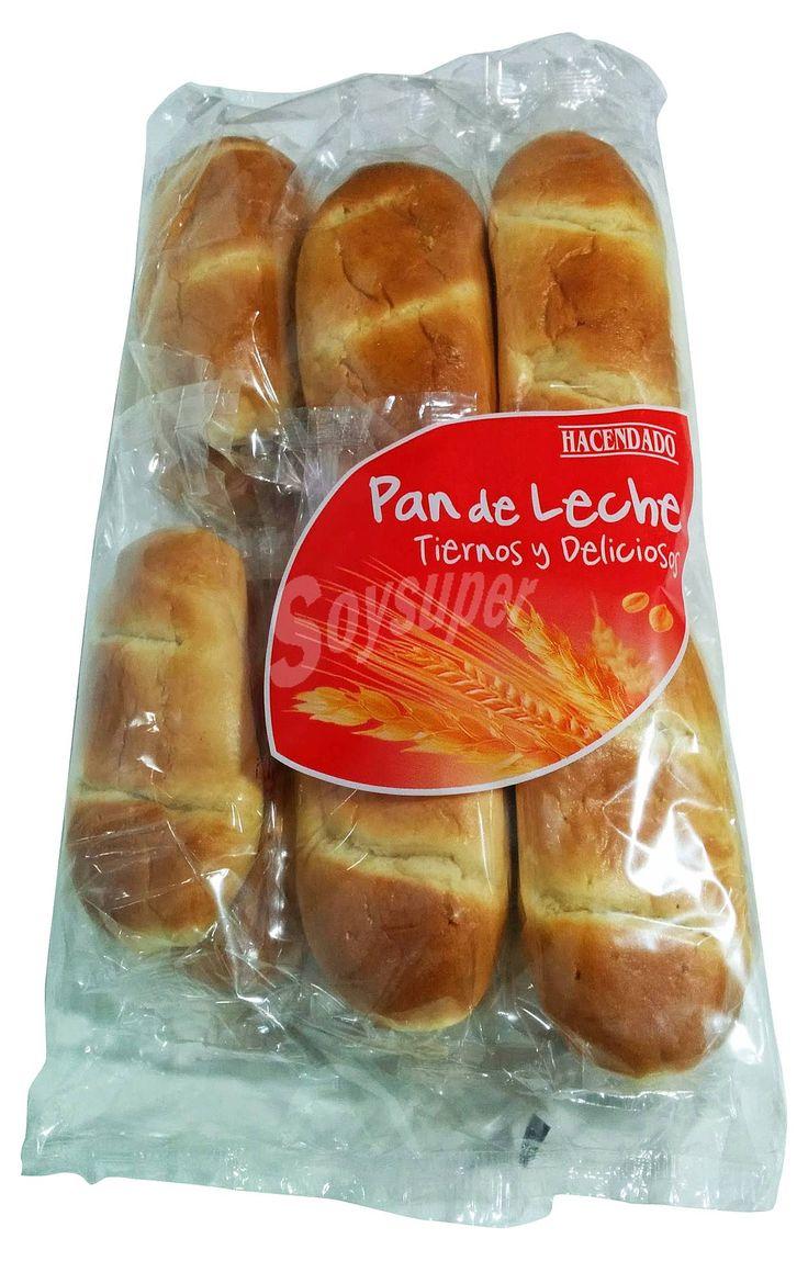 Hacendado pan de leche 3 pp / unidad