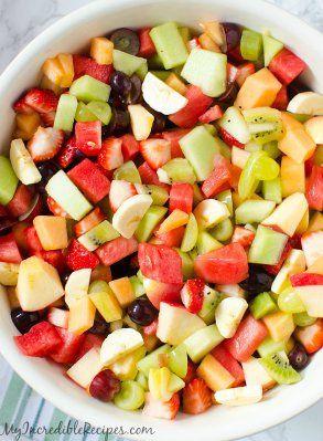 Strawberry Kiwi Melon Fruit Salad - blogs de Recipes https://link.crwd.fr/10yz