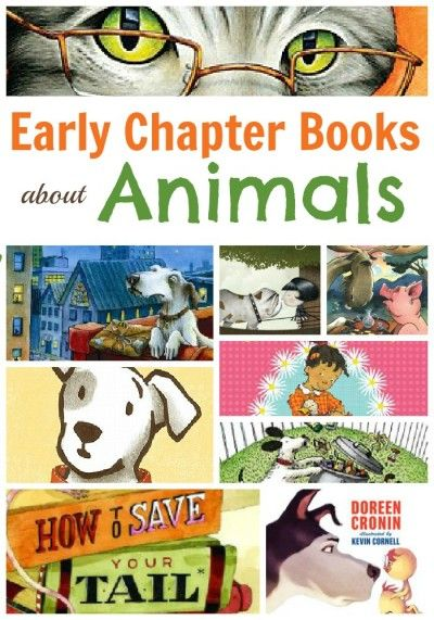 15 Early chapter books for kids with an animal theme