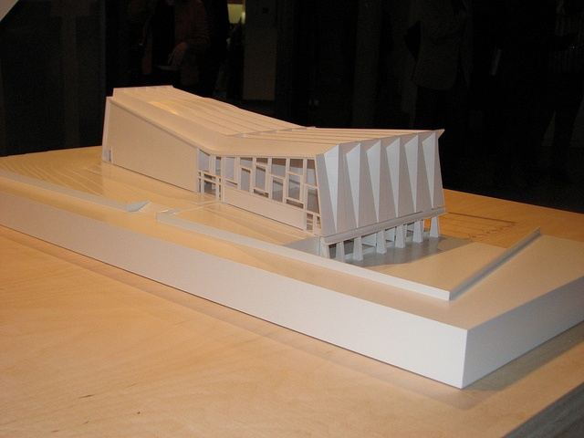beautiful.  PIER LUIGI NERVI model l'architecture comme défi by Materialise Group, via Flickr