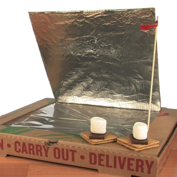Solar Oven Smores for school or home  =)