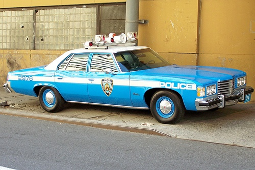 Love the lightbar on this. Don't think I've ever seen a Pontiac squad car though.
