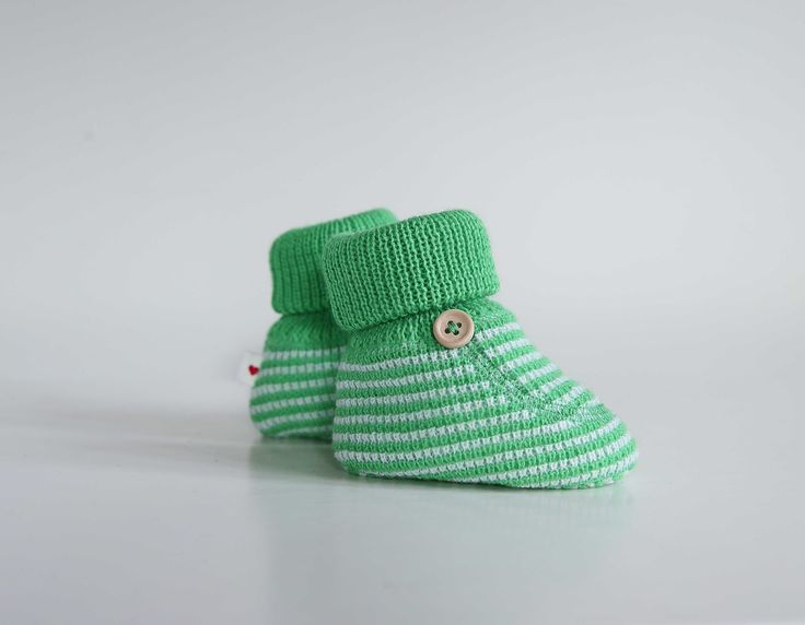 Green for the little ones! #reima #AW15 #newborn #green #baby #booties
