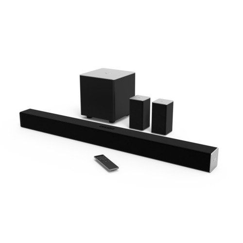 VIZIO SB3851-C0 38-Inch 5.1 Channel Sound Bar with Wireless Subwoofer and Satellite Speakers (2015 Model) #deals