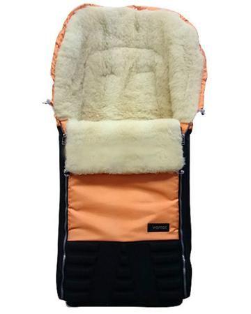 Womar  — 3114р. ------------------------------------------------ Спальный мешок в коляску Snowman оранжевый Womar  Вомар   - прекрасное средство защитить вашего ребенка от мороза в зимний период. Непромокаемый верх изделия в сочетании с натуральным утеплителем из овчины создают малышу комфортный температурный режим.