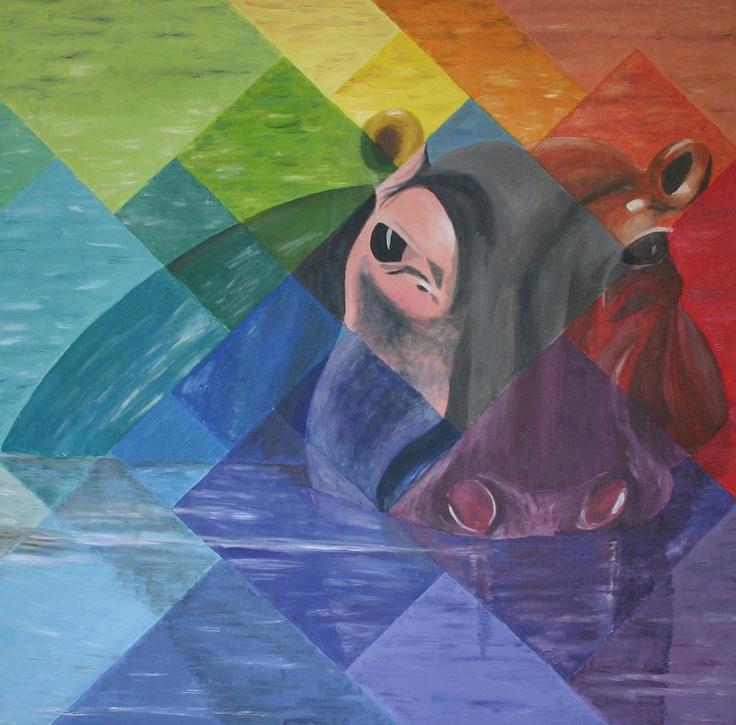 Nellie 't Nijlpaard (door Miranda van Vlerken 2008)