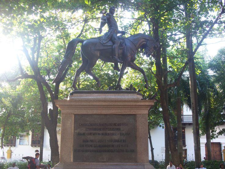 Simón Bolivar. Cartagena, Colombia