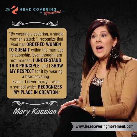 Mary A. Kassian Quote Image #4 | The Head Covering Movement