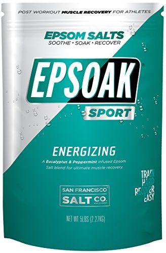 Take a Look:  Epsoak SPORT Epsom Salt for Athletes