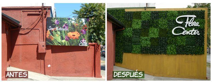 El antes y después de nuestro muralla Manuel Montt 2000, Providencia