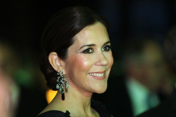: Dinner, Earrings Royalty, Dane Royalty, Crown Princess Mary, Denmark, Princesses, Photo, Hrh Crown