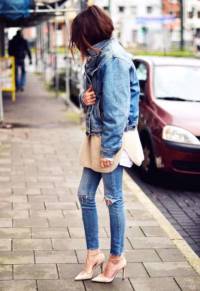 Spotted: Oversized Denim Jackets (via Bloglovin.com )