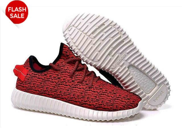 Adidas Yeezy Boot - Chaussure de Adidas Pas Cher Pour Homme Rouge/Blanc