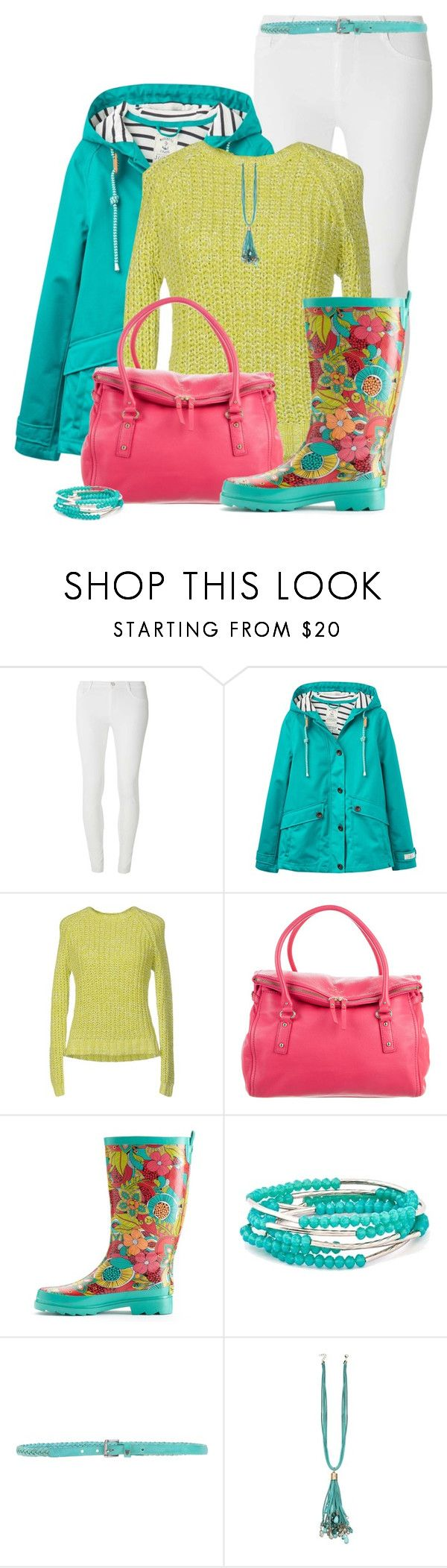 """""""Rain Coat and Boots"""" by cathy0402 ❤ liked on Polyvore featuring Dorothy Perkins, Joules, Roberto Collina, Kate Spade, Western Chief, Chrysalis and HTC"""