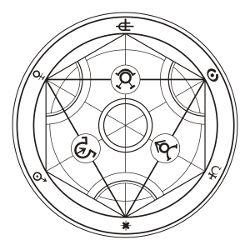 FMA: Human Transmutation Circle (Arawaka H. 2003)