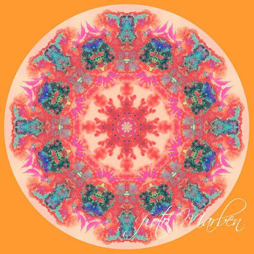 Obrázek Mandala - Večerní slunce