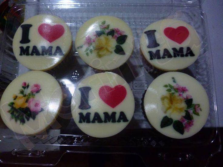 Cupcakes para mamá!