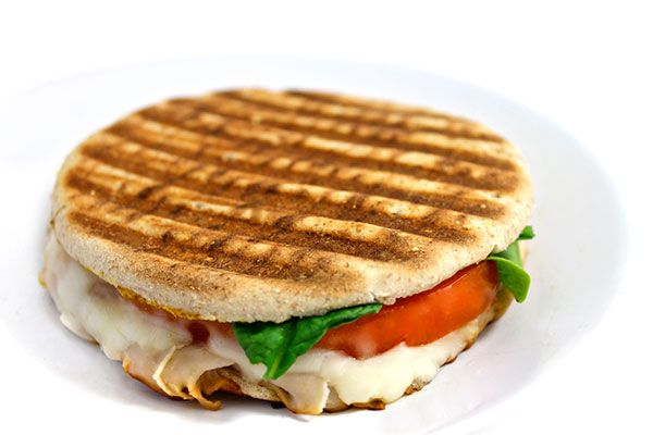 Starbucks Turkey Rustico Panini Made Skinny. I love this sandwich at Starbucks and created this home version. Each has 278 calories, 8g fat & 7 Weight Watchers POINTS PLUS. http://www.skinnykitchen.com/recipes/starbucks-turkey-rustico-panini-made-skinny/