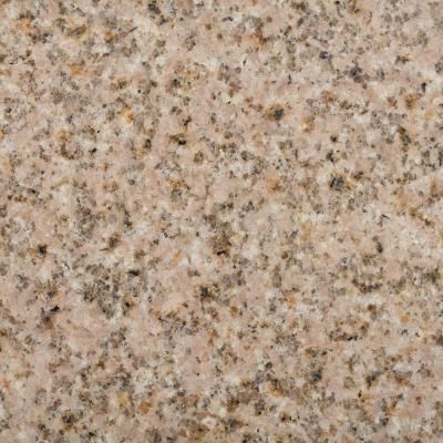 Pegasus 37 in. x 22 in. Granite Vanity Top in Beige with White Bowl and 4 in. Faucet Spread-79682 - The Home Depot $183
