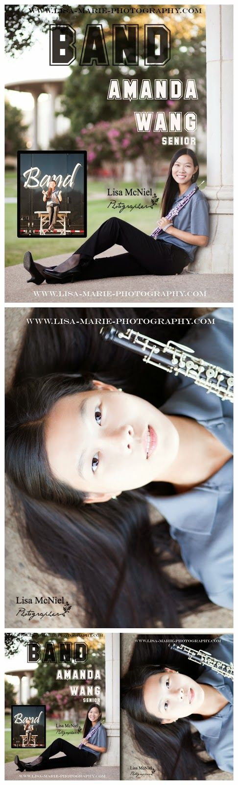 Band senior picture ideas, #Portraits #Seniorpictures #band click the pic to see 20 more senior picture ideas www.Lisa-Marie-Photography.com