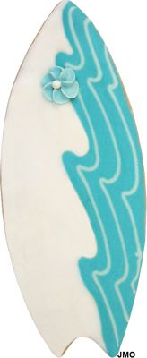Surfboard Cookie Cutter $13.90  http://www.coppergifts.com/cookie-cutters/pc/cg_ProductDetails.asp?idproduct=2011#