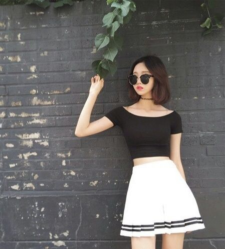 Nice Korean top dresses fashion, korean, and ulzzang image...