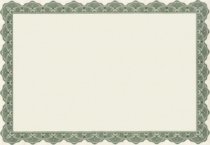 certificate border templates for word