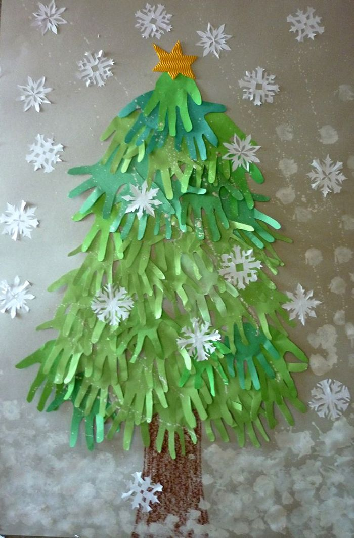 Unechte Weihnachtsbäume-Hände…