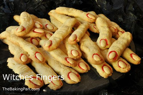 Cookie Recipe | Witches Fingers Cookies Recipe