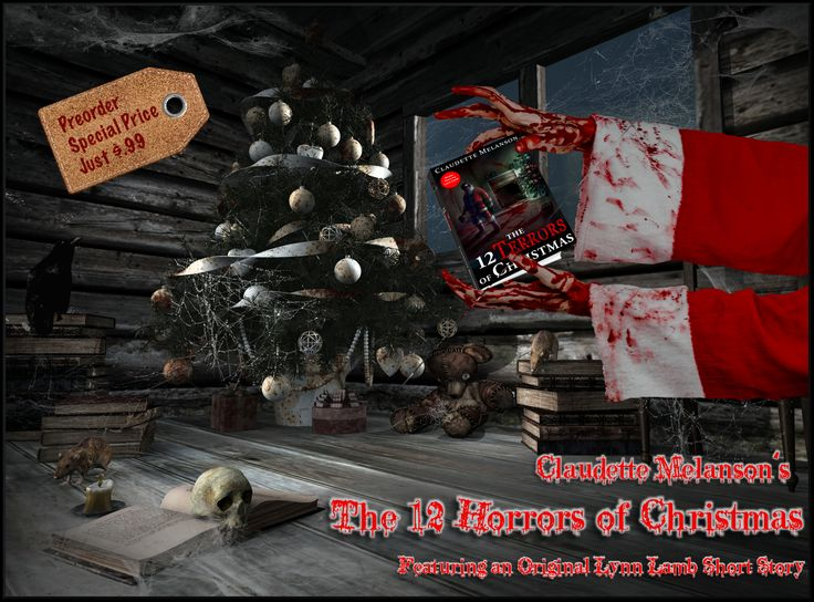 Pre-order your copy now for only $.99 Descriptions of each Terror on sale pages Order today, pay Dec 10 Price goes up to $3.50 on release A baker's dozen of stories to help you explore the darker side of Christmas Bonus story by Lynn Lamb & one Maura DeLuca tale Christmas served with a side of horror Amazon: http://amzn.to/2gvnTSB?utm_content=buffer7fd56&utm_medium=social&utm_source=pinterest.com&utm_campaign=buffer Smashwords…