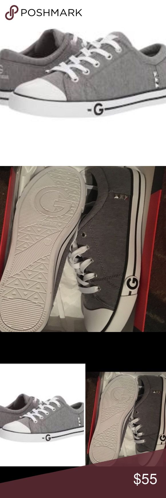 G by Guess sneakers G by guess sneakers  gray fabric NWT  8.5 needs a new home G by Guess Shoes Sneakers