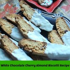Almond biscotti recipe, Biscotti recipe and Chocolate cherry on ...