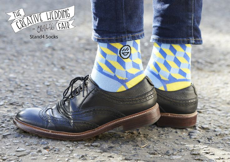 Stand4 Socks - The Creative Wedding Fair by Etsy Manchester - Colourful Quirky Socks - Groomsmen - Menswear