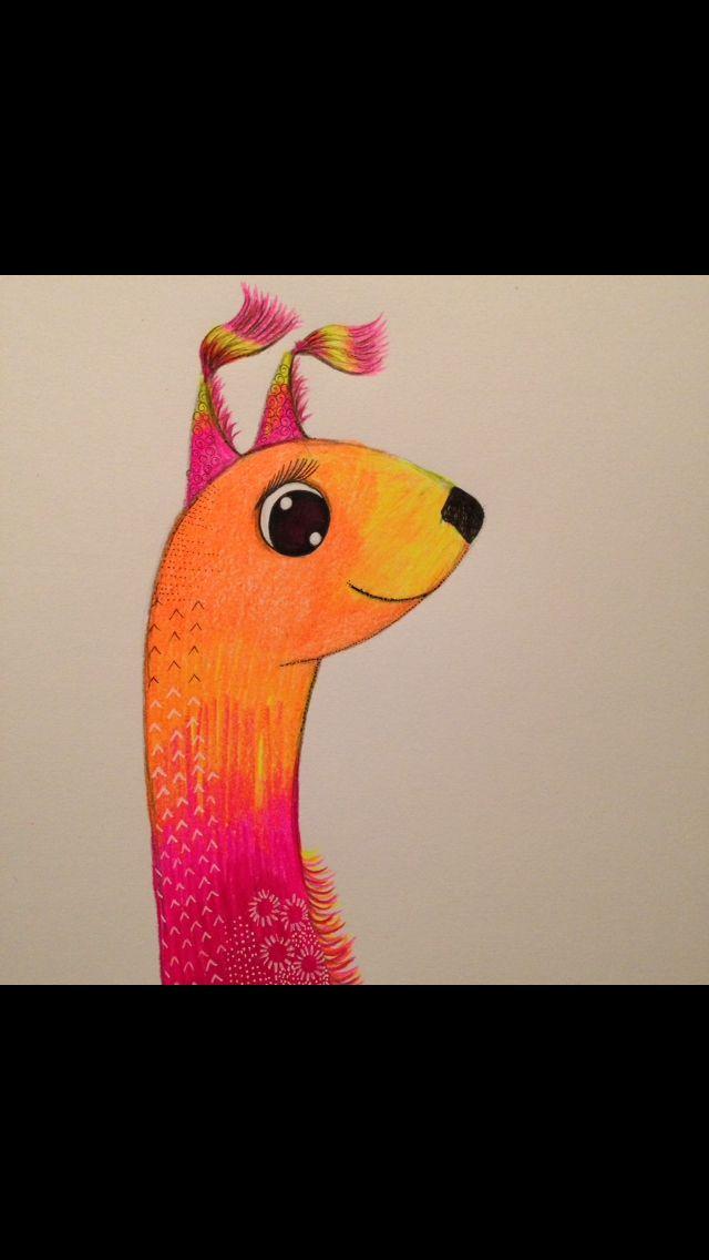 Vicuña Character illustration
