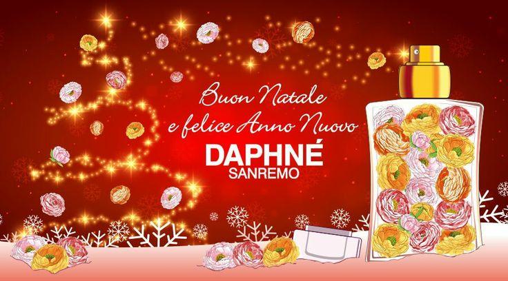 Un #profumato #augurio di #BuonNatale e #felice #AnnoNuovo da #DAPHNÉ #Sanremo