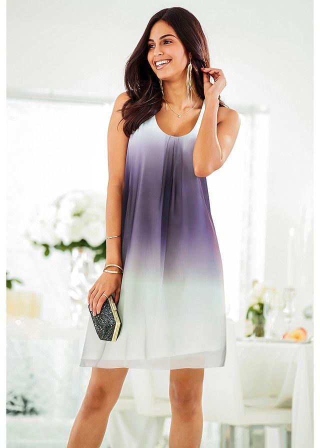 Sukienka szyfonowa Bardzo kobieca • 109.99 zł • bonprix