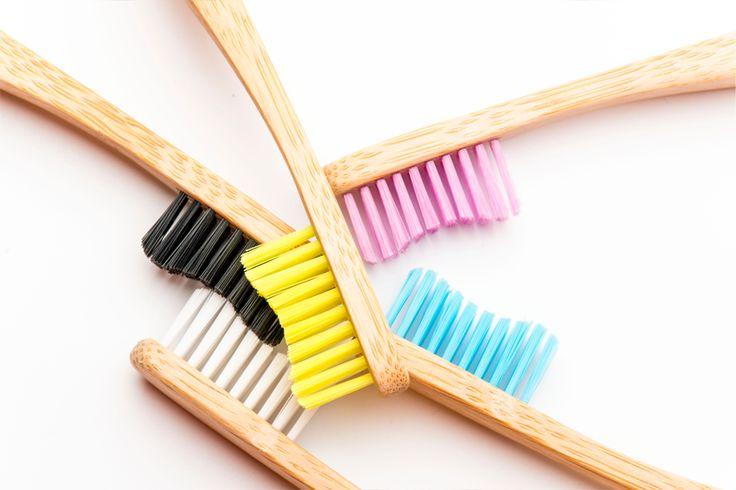 Humble Brush (nieuw bij Compacon) op stand 240: biologisch afbreekbare bamboe tandenborstels.