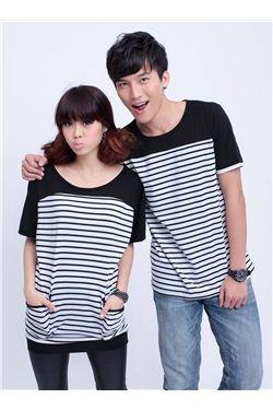 韓国風的 ドルマンスリーブ 熱い販売 Tシャツ  (10422850)