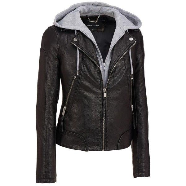 25  best Women's leather & faux leather jackets ideas on Pinterest ...